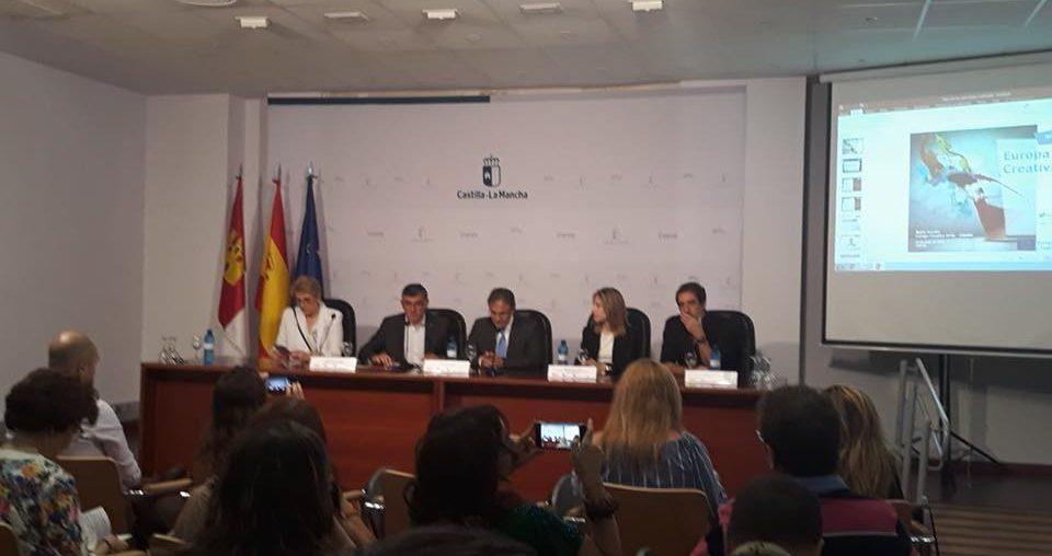 """ADIMAN asiste en Cuenca a la jornada """"Europa Creativa"""""""