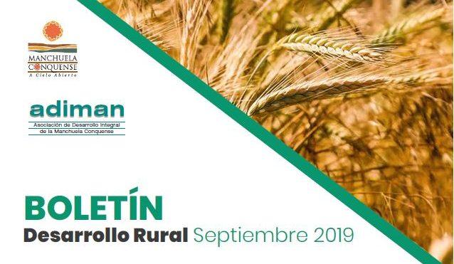 BOLETÍN Desarrollo Rural Septiembre 2019