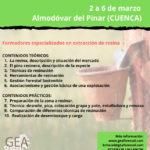 CURSO DE RESINACIÓN PARA DESEMPLEADOS EN ALMODÓVAR DEL PINAR
