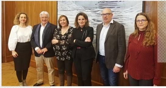 REDR mantiene la primera reunión la ministra de Transición Ecológica y Reto Demográfico, Teresa Ribera, para coordinar acciones contra la despoblación