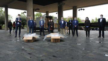 Recamder entrega al Sescam 125.000 mascarillas, gracias a la campaña Solidaridad Rural