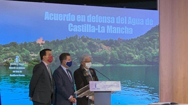 Recamder rubrica el histórico Acuerdo en Defensa del Agua de Castilla-La Mancha