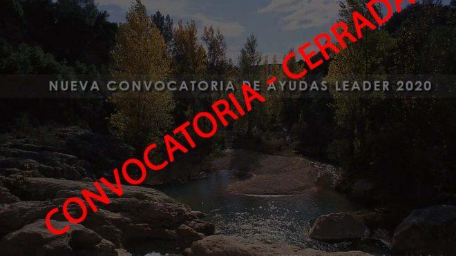 CIERRE DE LA CONVOCATORIA LEADER DE ADIMAN