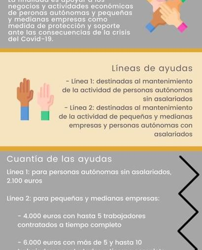 Ayudas de Castilla-La Mancha a sectores afectados por la crisis de la COVID-19