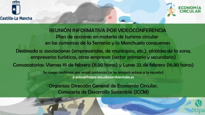 CONFERENCIA ONLINE INFORMATIVA SOBRE PROYECTOS PILOTOS EN EL VALLE DEL CABRIEL