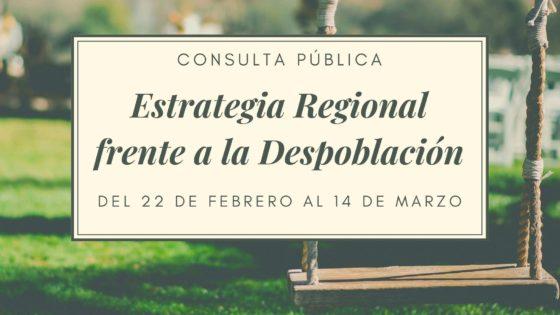 ESTRATEGIA REGIONAL FRENTE A LA DESPOBLACIÓN EN CASTILLA-LA MANCHA