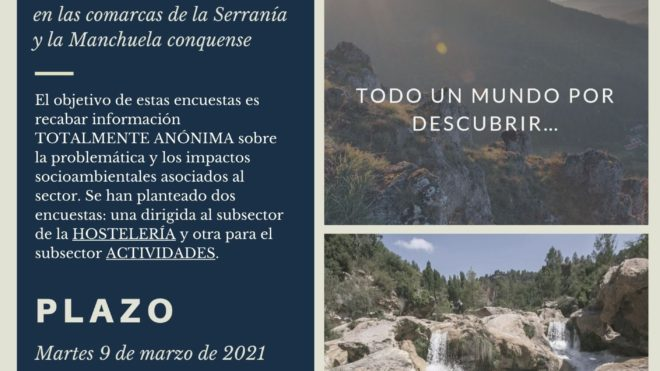 Se amplía una semana el plazo para participar en la encuesta de turismo circular
