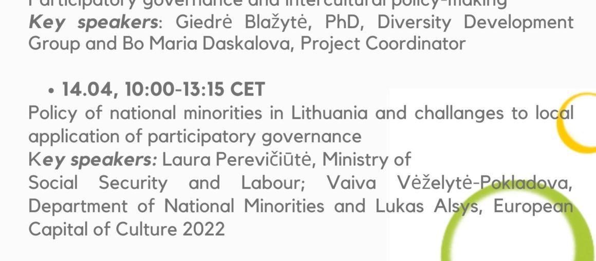 SEGUNDO EVENTO INTERNACIONAL EN KAUNAS, LITUANIA, DE LA RED DE CIUDADES EUROPEAS QUE FOMENTAR EL DIÁLOGO INTERCULTURAL