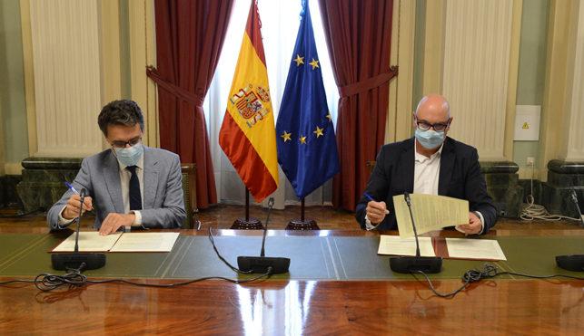 REDR firma un convenio de colaboración con el Ministerio de Agricultura, Pesca y Alimentación