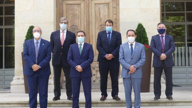 SSPA: Las Diputaciones de Cuenca, Soria y Teruel colaboran con las CEOEs de las tres provincias frente a la despoblación